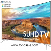 UN65KS8500 Curved 65-Inch Smart 4K SUHD HDR 1000 LED TV